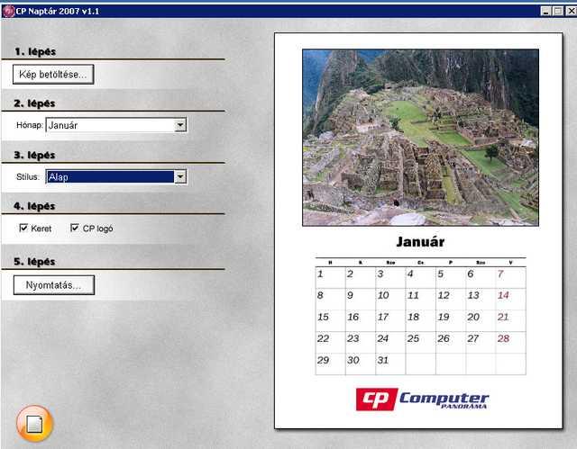 cp naptár CP Naptár 2007 letöltés | LETOLTOKOZPONT.HU   Ingyenes programok  cp naptár