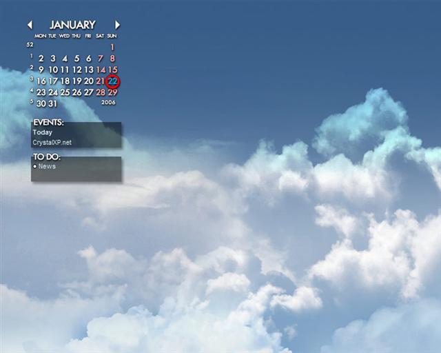 pc naptár letöltés Rainlendar Látványos többfunkciós naptár az XP Asztalra, magyarul  pc naptár letöltés