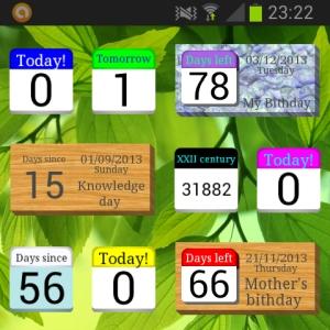 android naptár letöltés Days Left (countdown timer)   naptár és emlékeztető ( Android app  android naptár letöltés